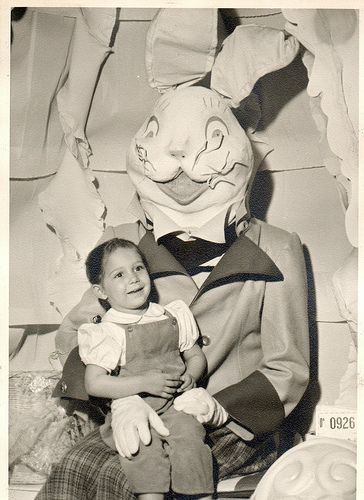 vintage easter bunny costumes