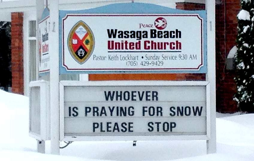 whoever is praying for snow