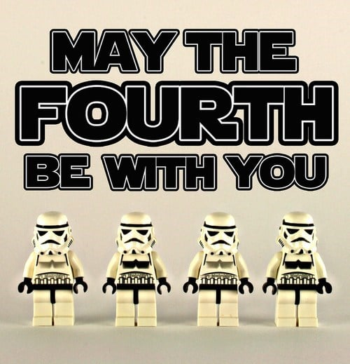 Jedi Lego - May the Fourth Be With You - Star Wars Day Memes