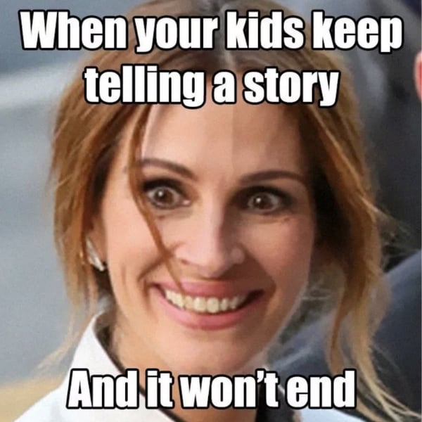 kid story mom meme funny