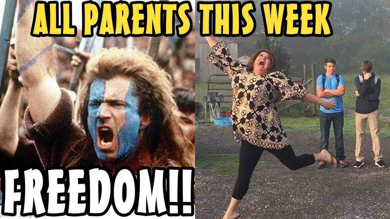 all parents this week after kids go back to school meme