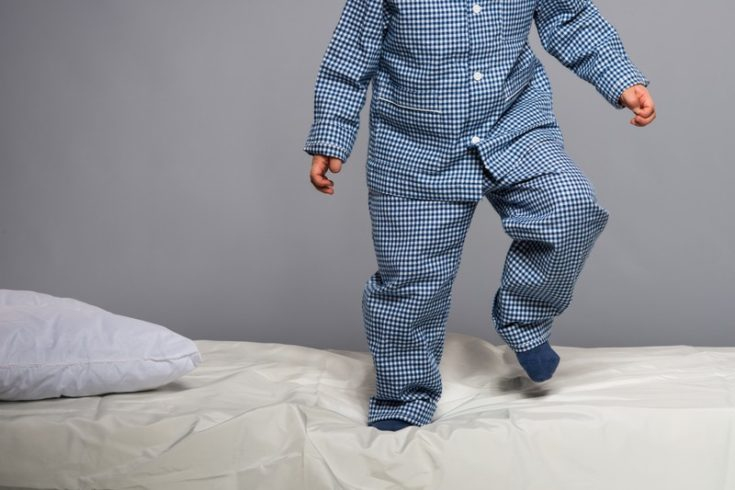 toddler getting out of bed - toddler bedtime tips