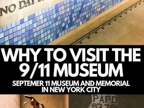 travel blog - SEPTEMBER 11 MUSEUM traveling to nyc