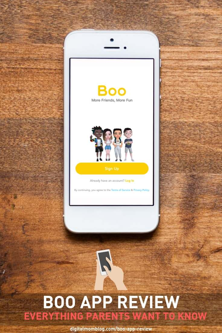 boo app parents guide - AR CHAT AND AVATAR
