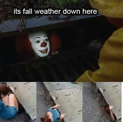 fall weather down here