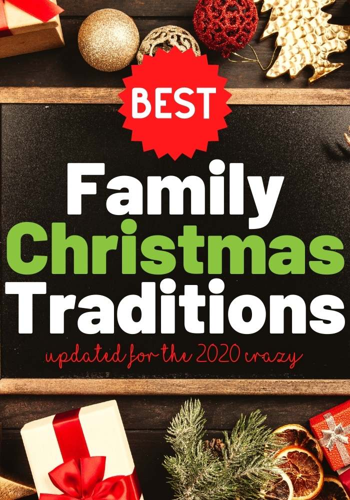 family christmas traditions 2020