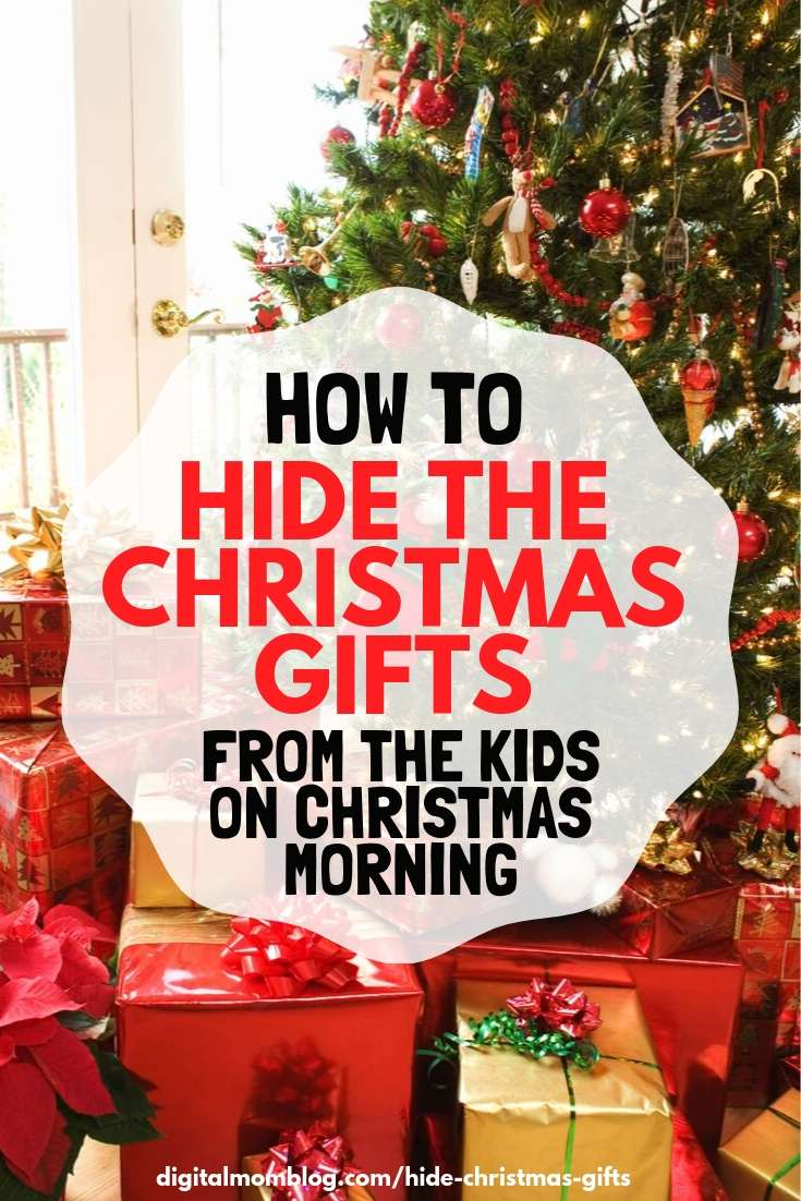how to hide christmas gifts