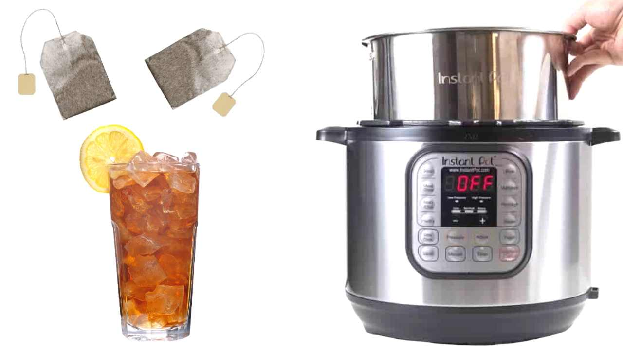 instant pot ice tea
