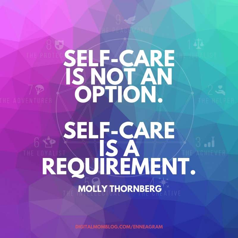 self care is not an option molly thornberg quote