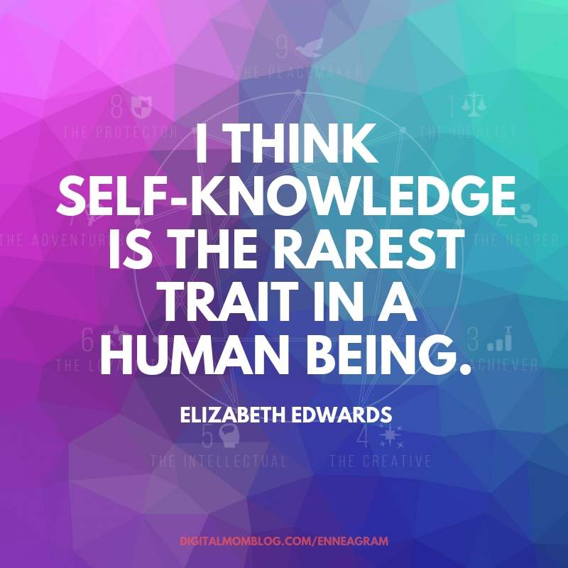 self knowledge enneagram self knowledge quote