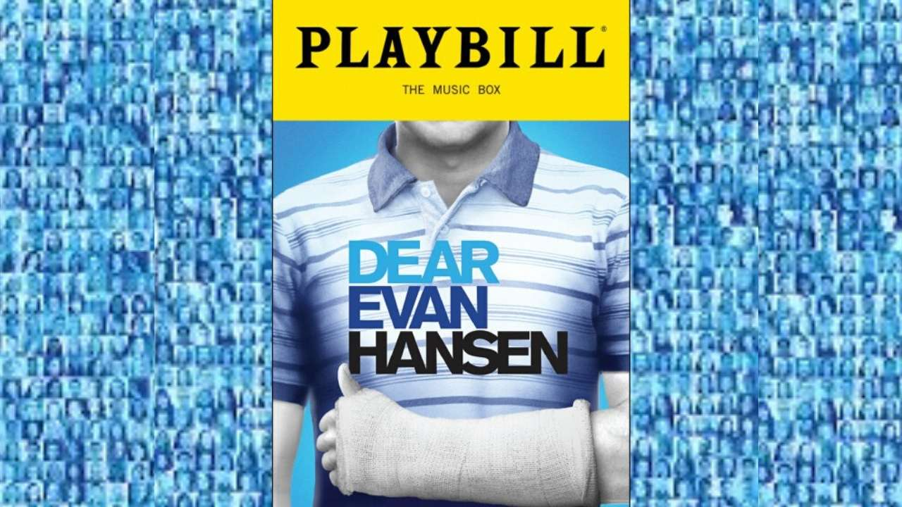 dear evan hansen playbill