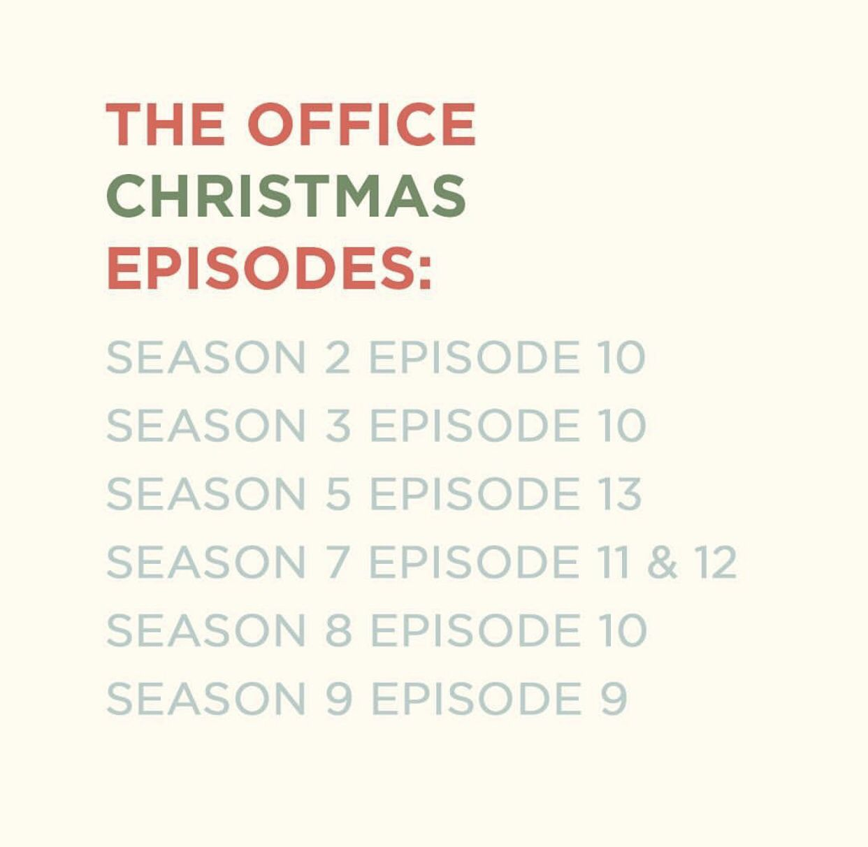 the-office-christmas-episodes