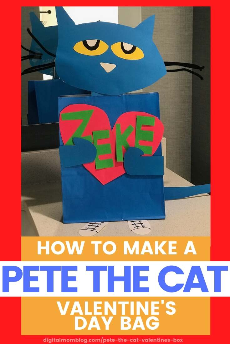 pete the cat valentines day box