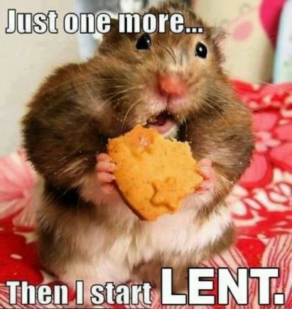 just one more day lent