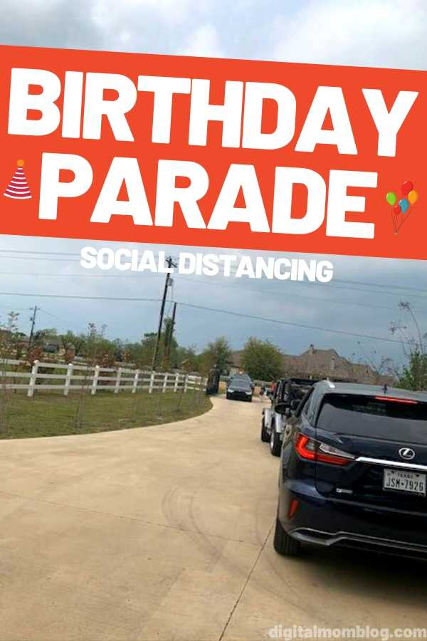 How to Throw a Birthday Parade