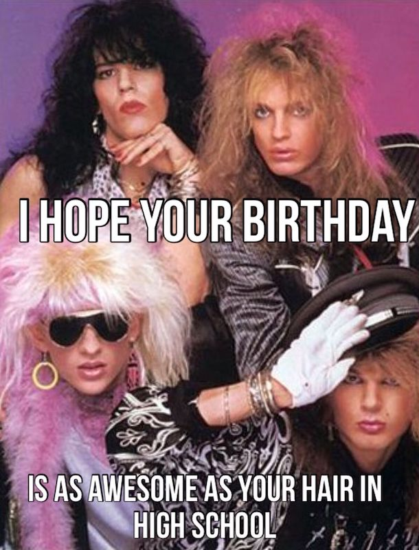 high school friend birthday meme