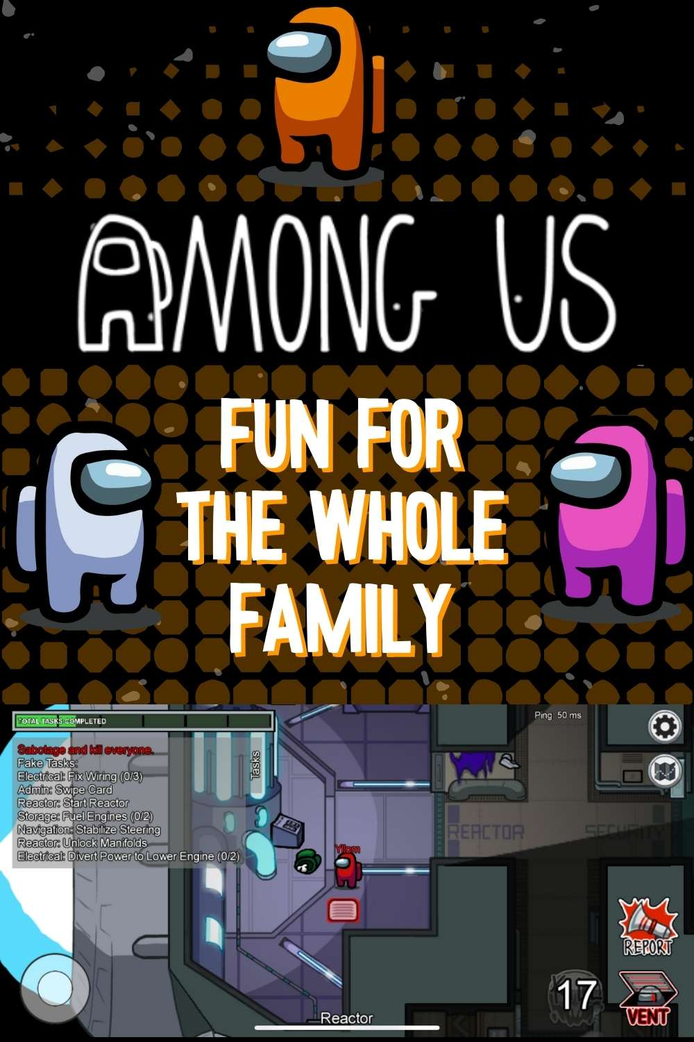among us family game