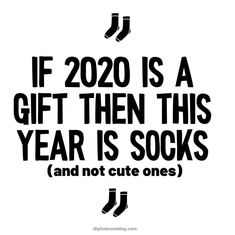 2020 is a Gift - Funny Meme