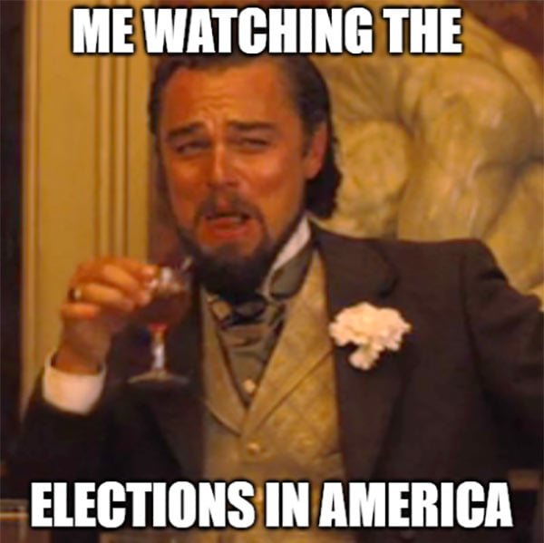 Elections in America Humor