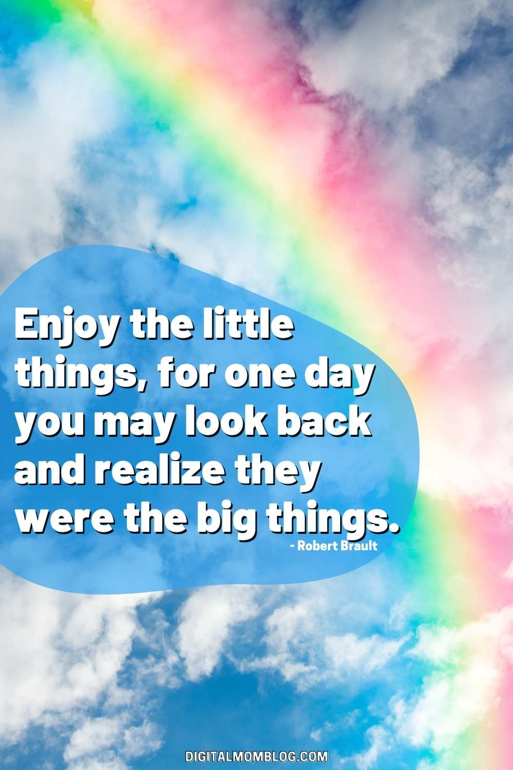 Enjoy the Little Things - Quote about Gratitude