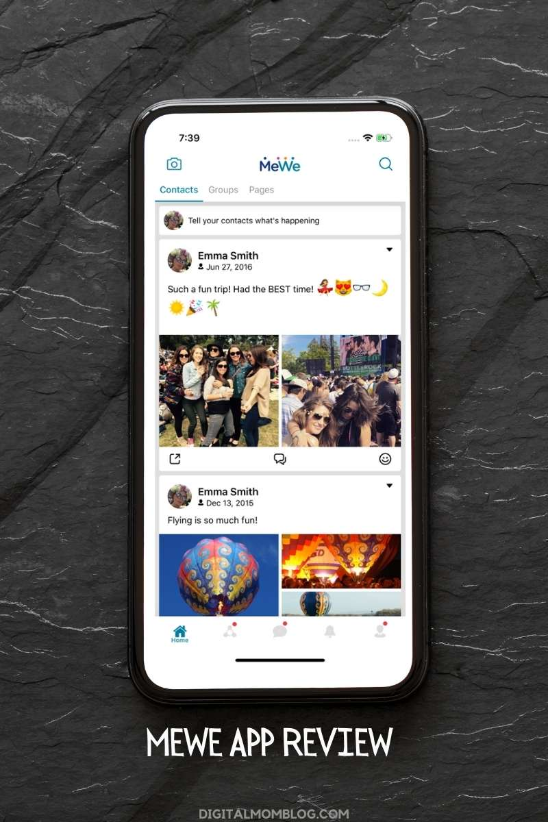 MeWe Social Network App Review