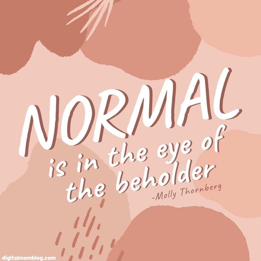 quote about normalcy molly thornberg