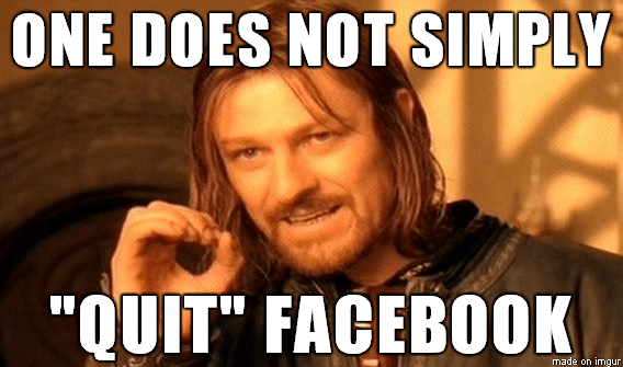 Game of thrones  about Quitting Facebook memes
