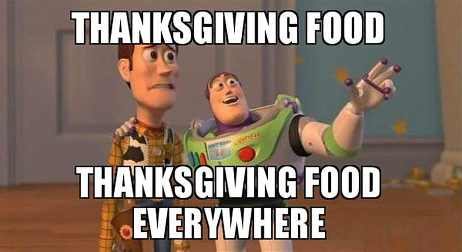 Funny Thanksgiving Food Everywhere