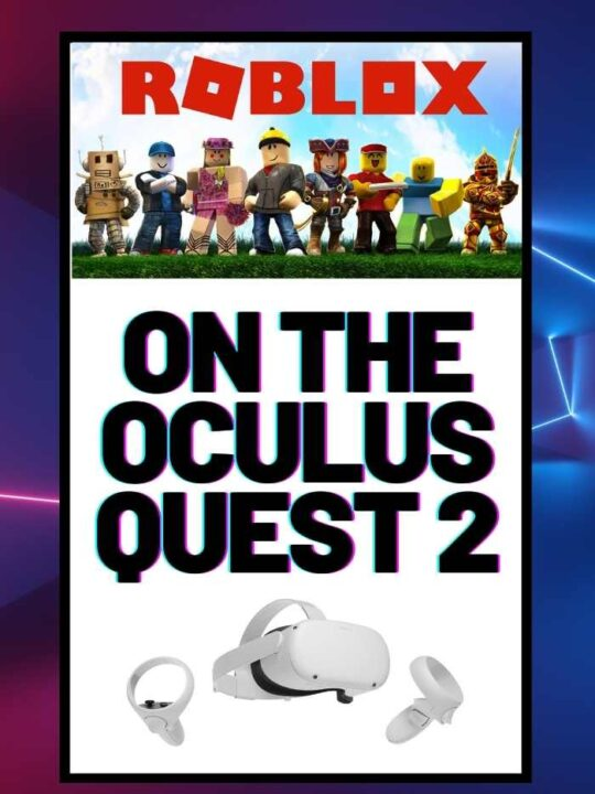 Roblox on Oculus Quest 2