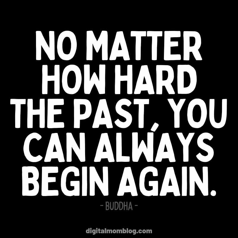 New Beginning Quote from Buddha - New You