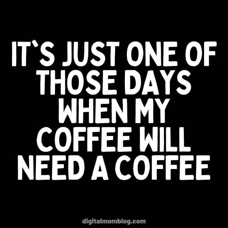 When your coffee needs a coffee. Typically this happens on Monday.  Sleeping Memes