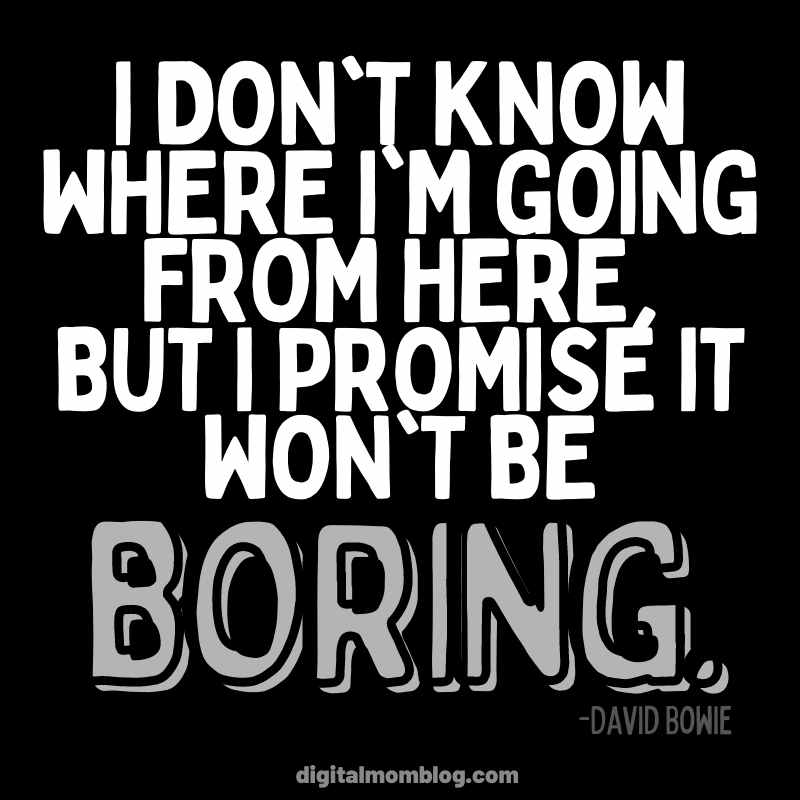David Bowie - New Year New You Quote