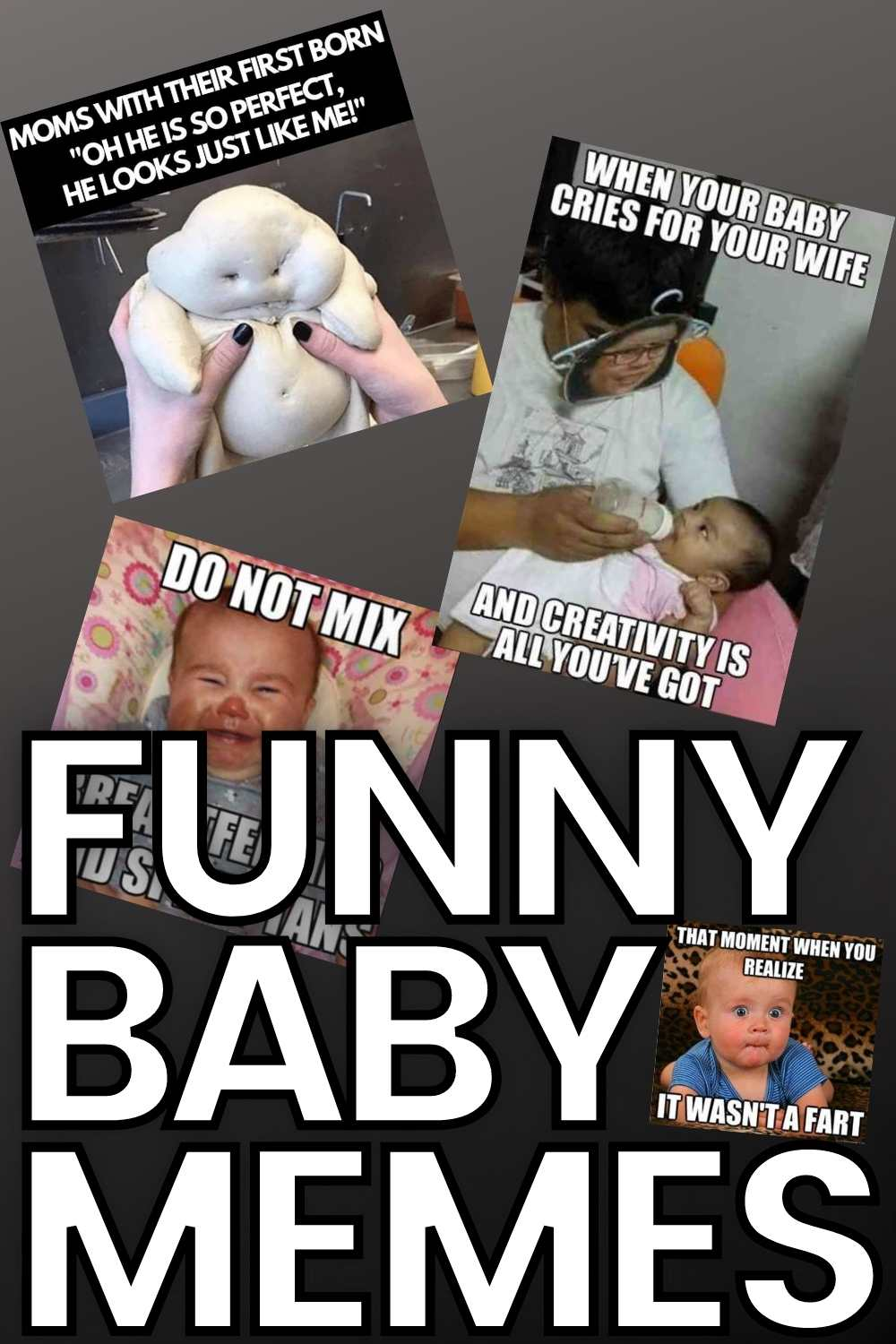 funny baby memes for first time moms and parents
