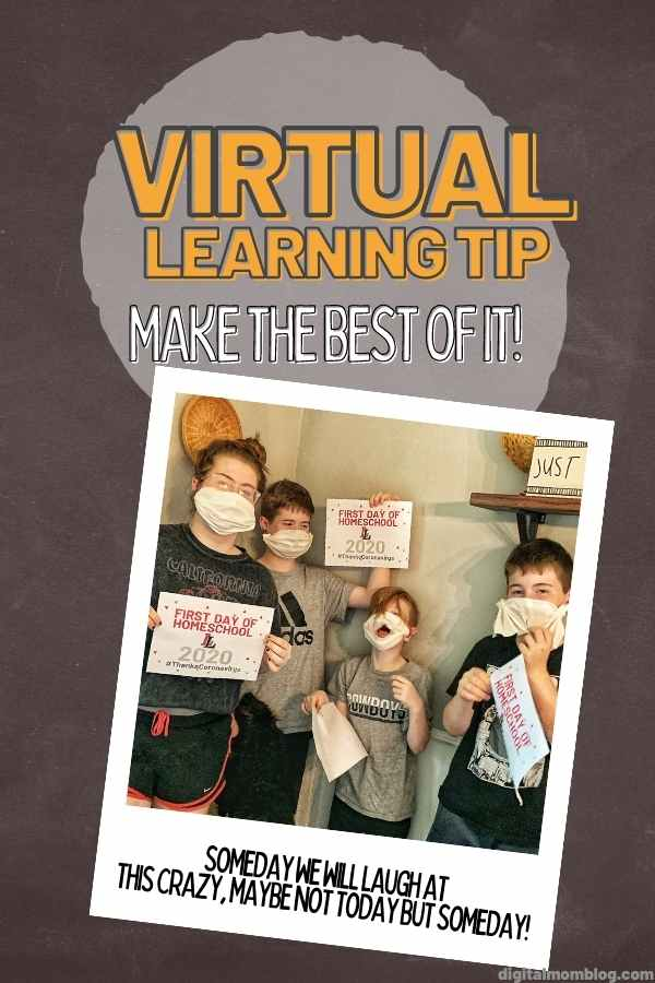 virtual learning tip - make the best of online schooling