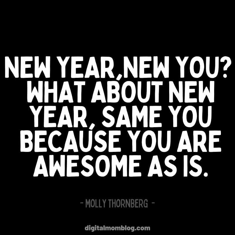 New Year New You Quote about Self Love molly thornberg