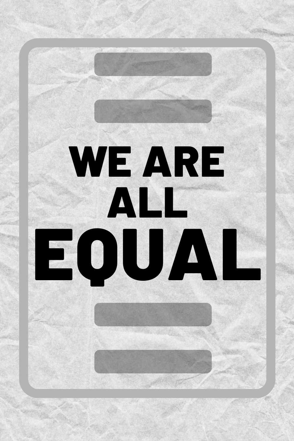 we are all equal quote