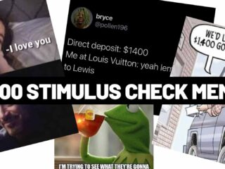 $1400 Stimulus Check Memes Funny Images