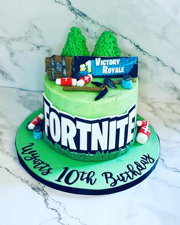 | 13 Amazing Fortnite Cakes for Your Next Party