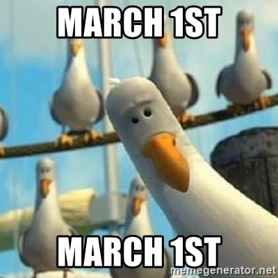 march 1st meme