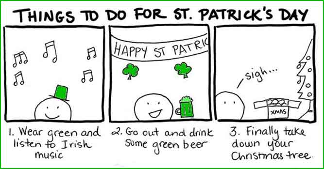 what to do on st patricks day meme
