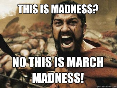 this is march madness meme
