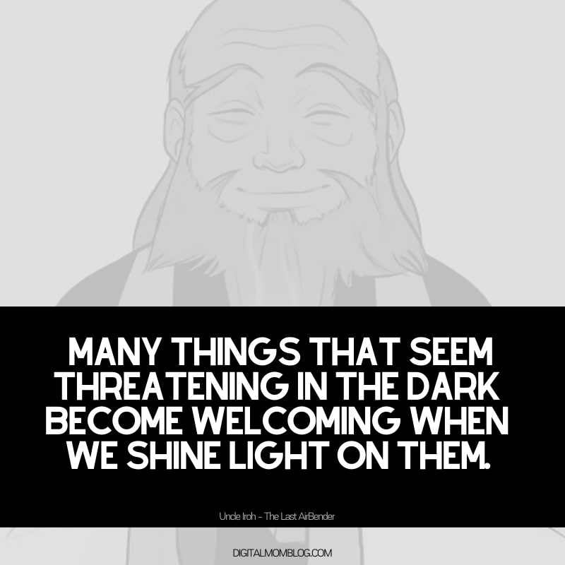 uncle iroh quote about darkness