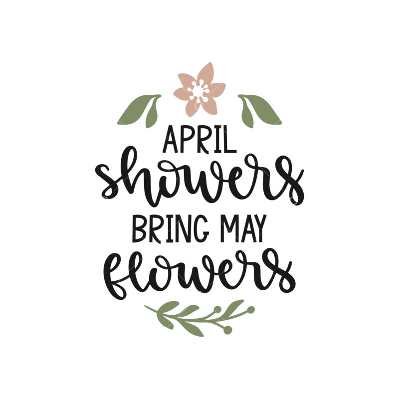 april shower bring may flowers clip art