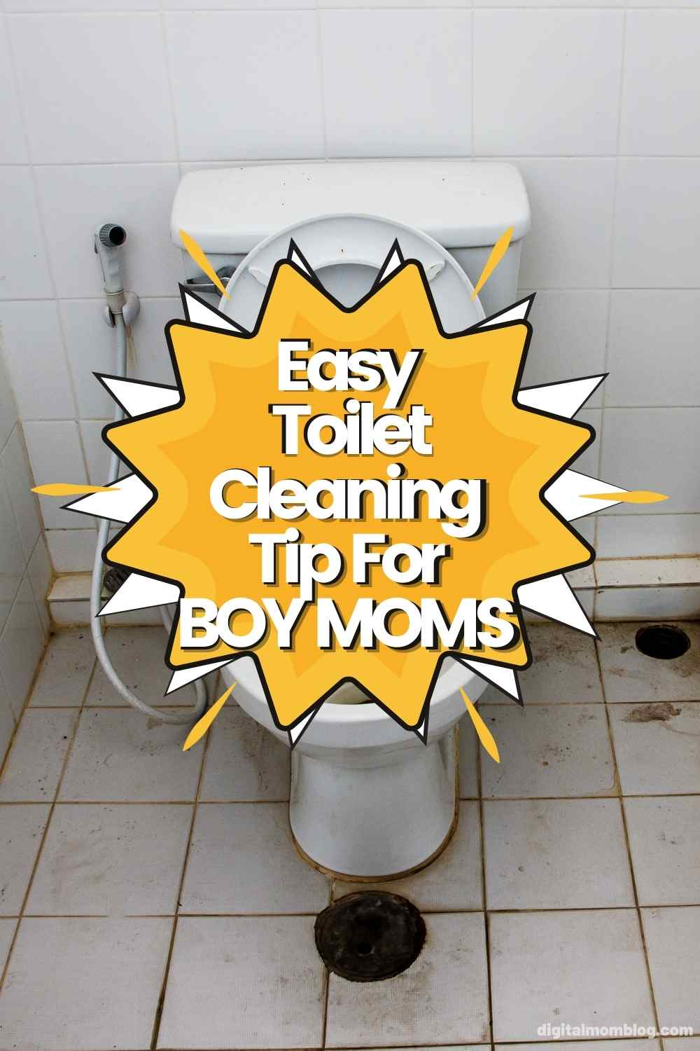 fix bathroom urine smell boy mom tiktok cleaning