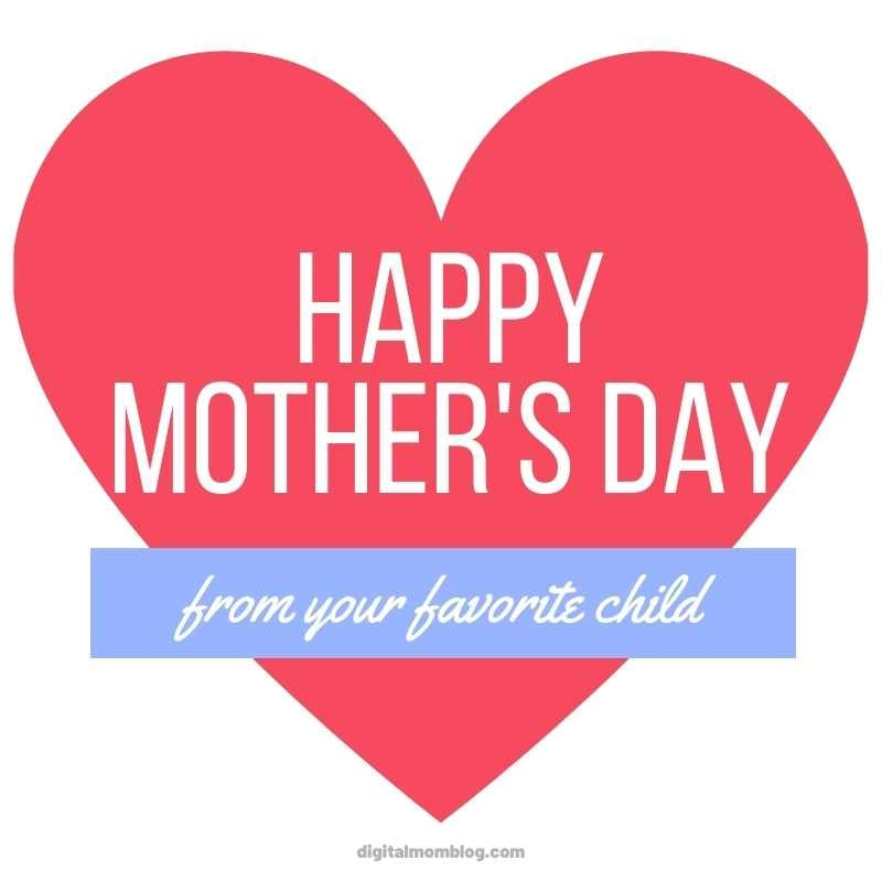 funny happy mothers day favorite meme