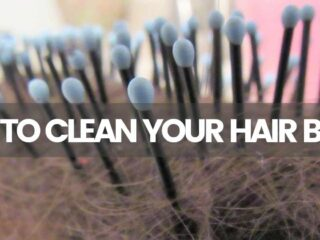 how to clean hairbrush