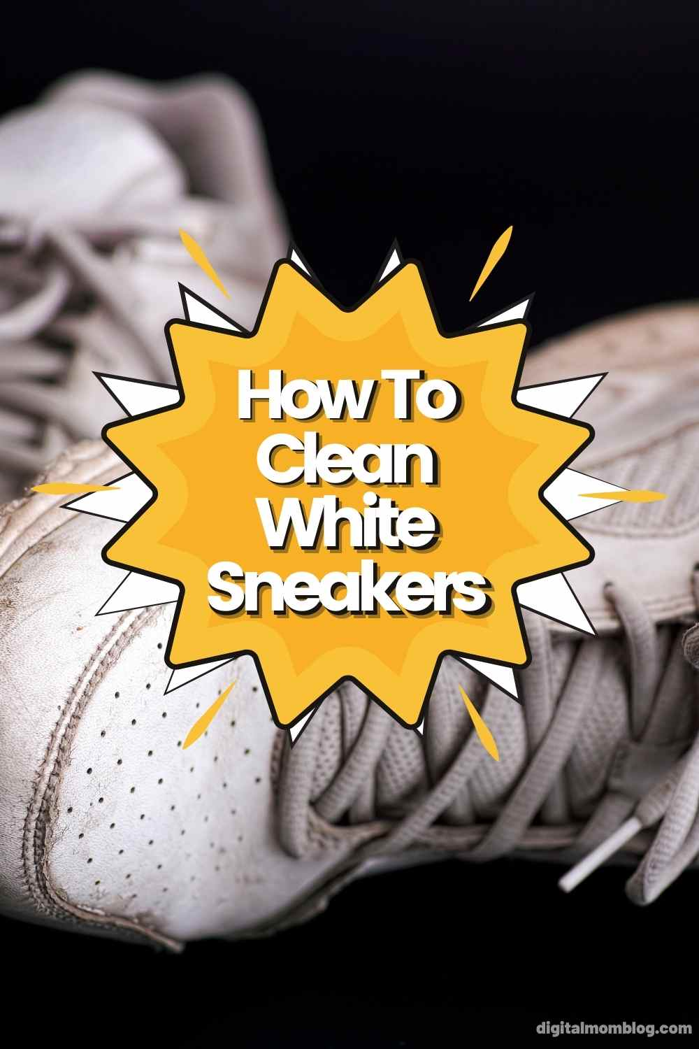 how to clean white sneakers tiktok cleaning