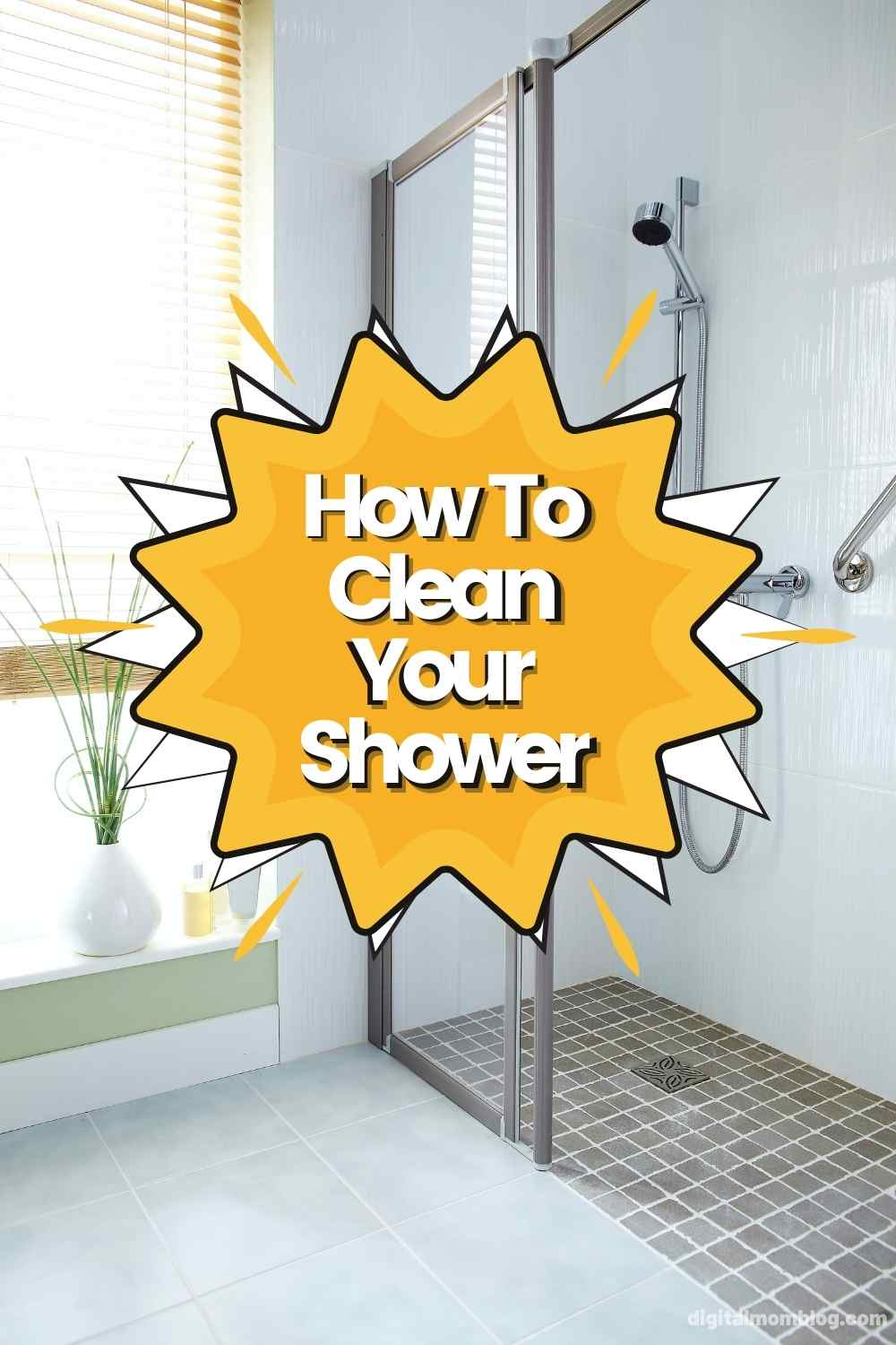 how to clean your shower