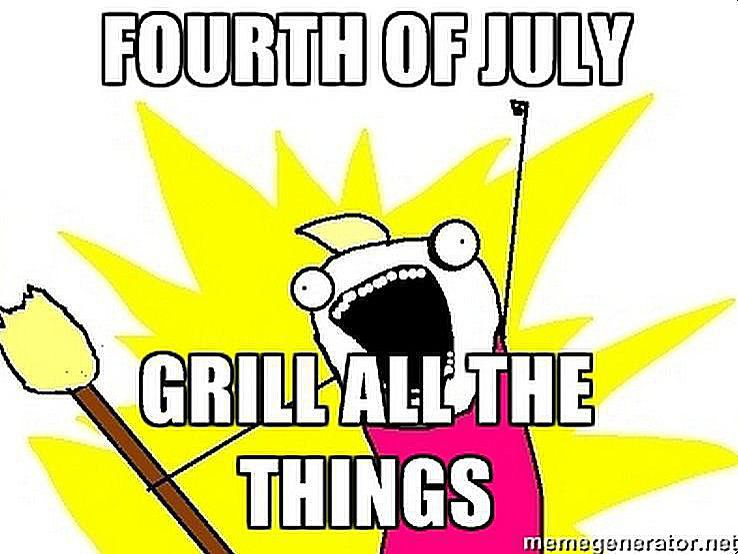fourth of july grill all the things meme