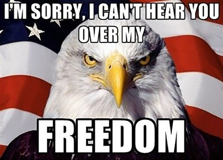 independence day freedom meme